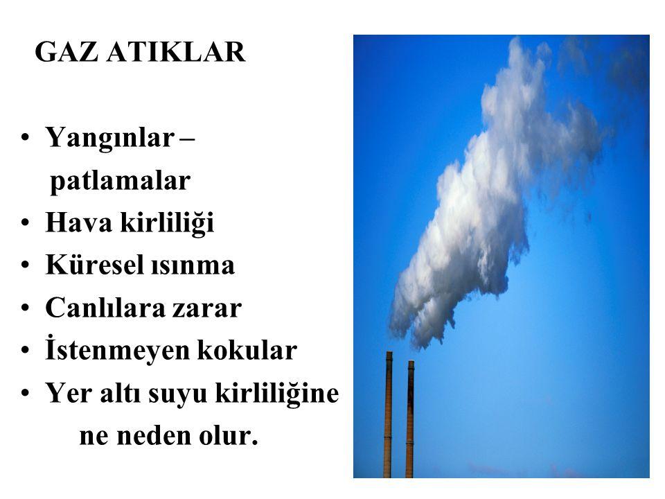 Yer altı suyu kirliliğine ne neden olur.