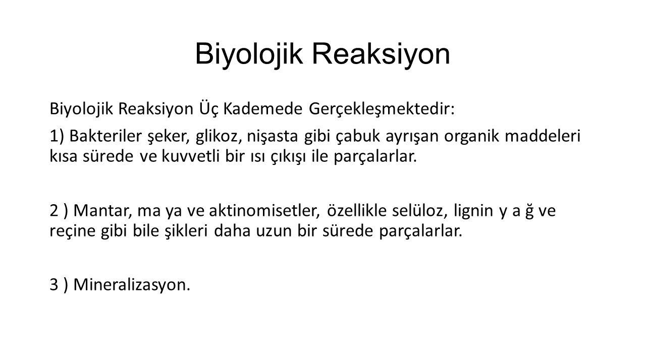 Biyolojik Reaksiyon