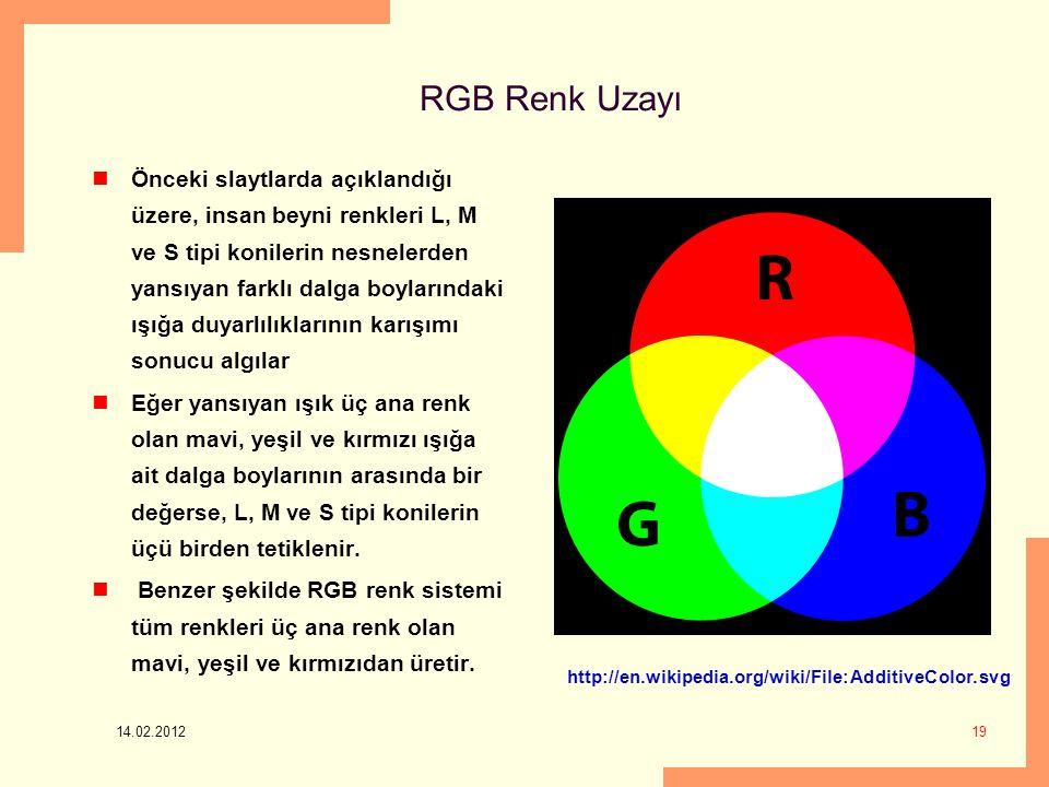 RGB Renk Uzayı