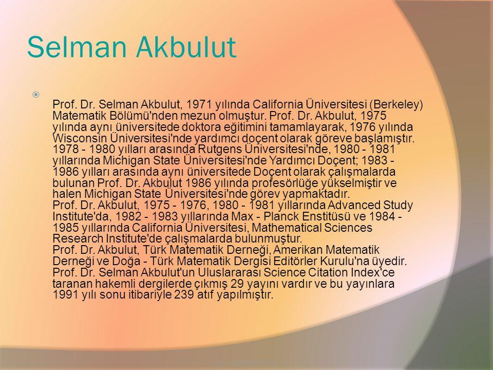 Selman Akbulut