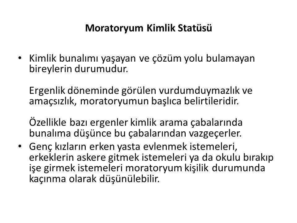 Moratoryum Kimlik Statüsü
