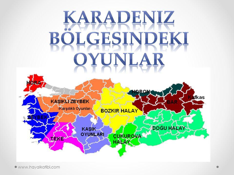 Karadeniz bölgesindeki