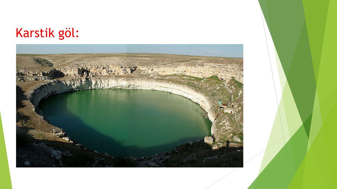 Karstik göl: