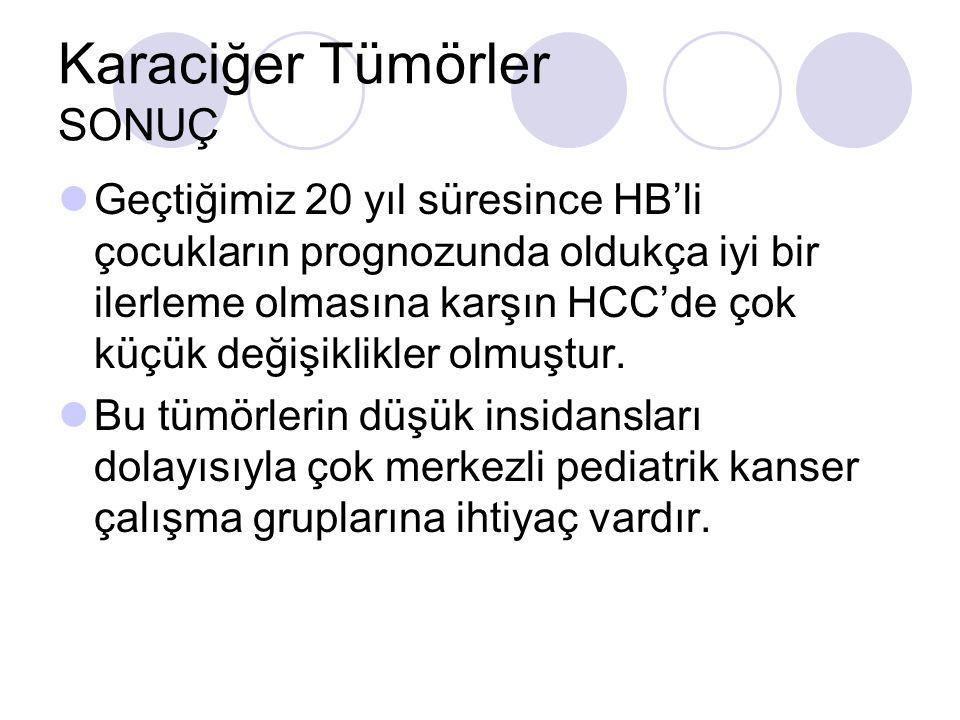 Karaciğer Tümörler SONUÇ
