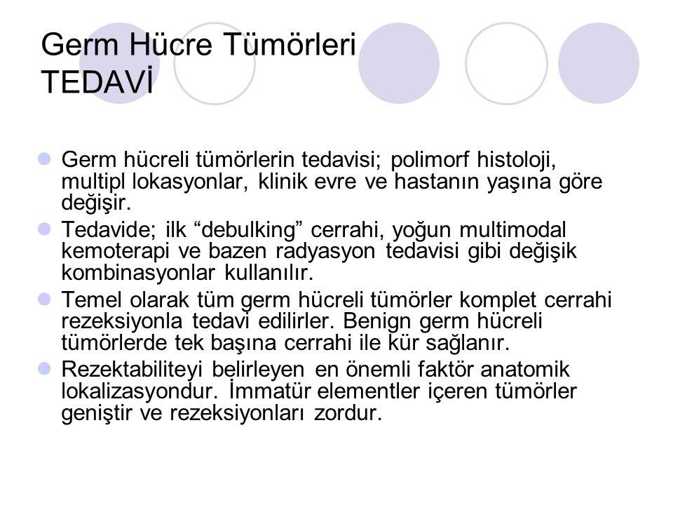 Germ Hücre Tümörleri TEDAVİ