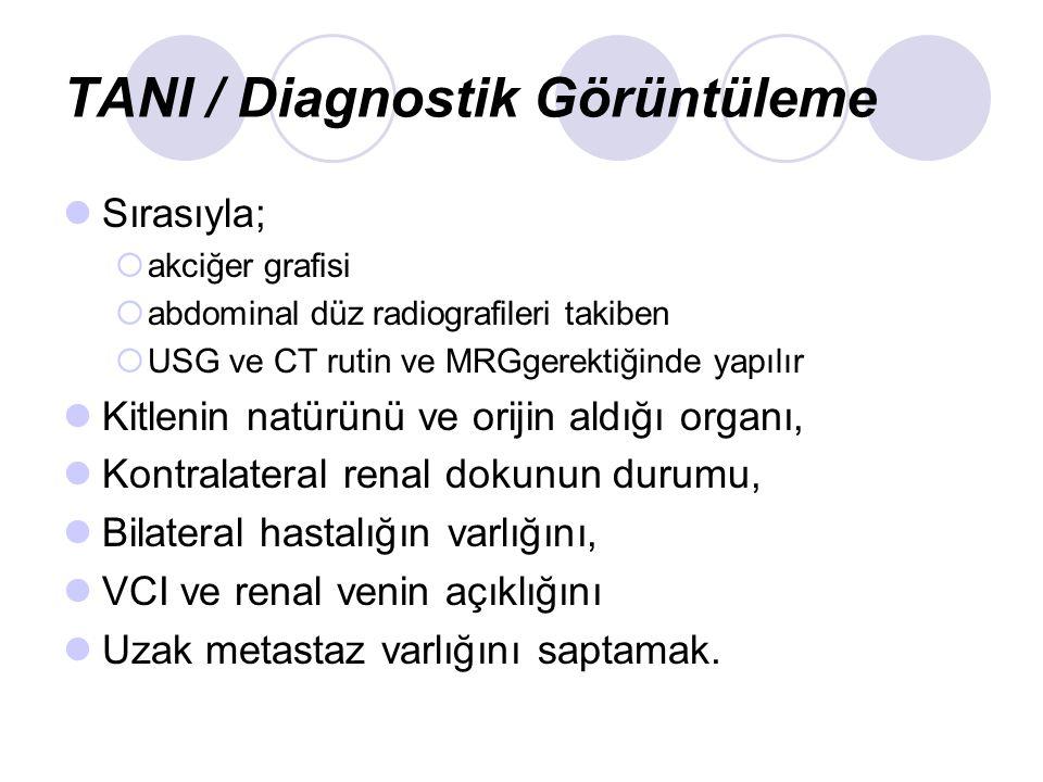 TANI / Diagnostik Görüntüleme