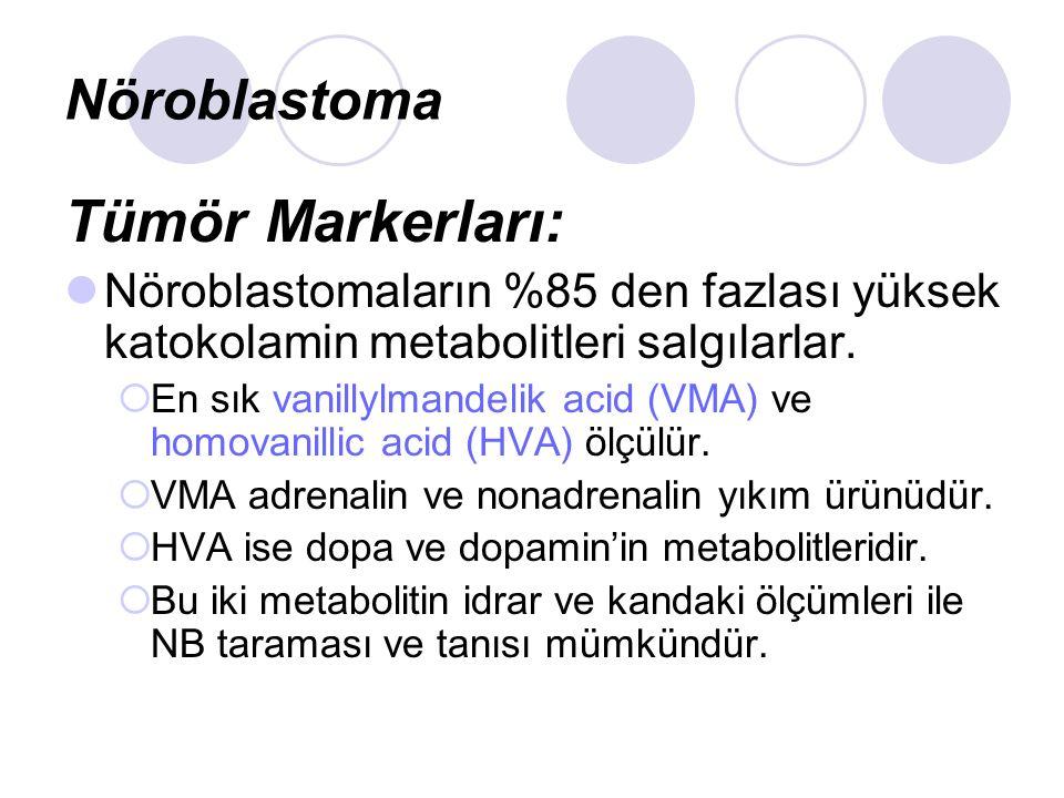 Tümör Markerları: Nöroblastoma