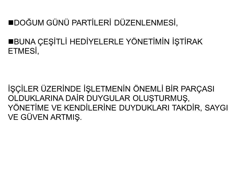 nDOĞUM GÜNÜ PARTİLERİ DÜZENLENMESİ,