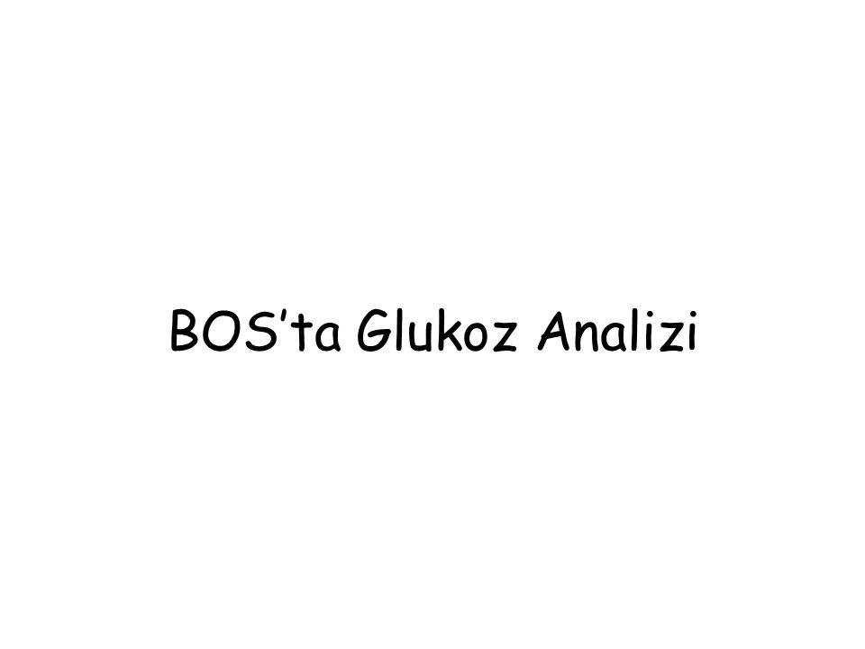 BOS'ta Glukoz Analizi