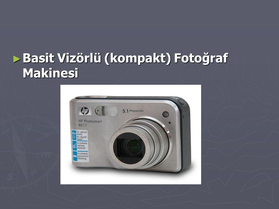 Basit Vizörlü (kompakt) Fotoğraf Makinesi