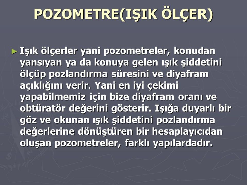 POZOMETRE(IŞIK ÖLÇER)