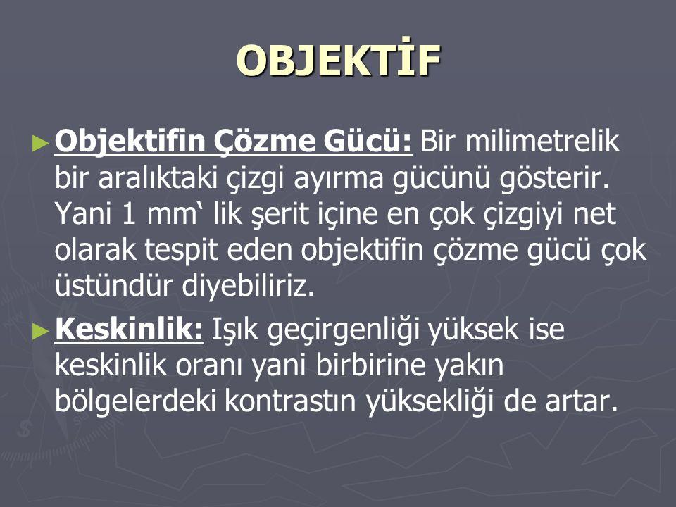 OBJEKTİF