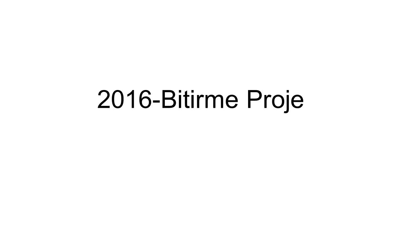 2016-Bitirme Proje