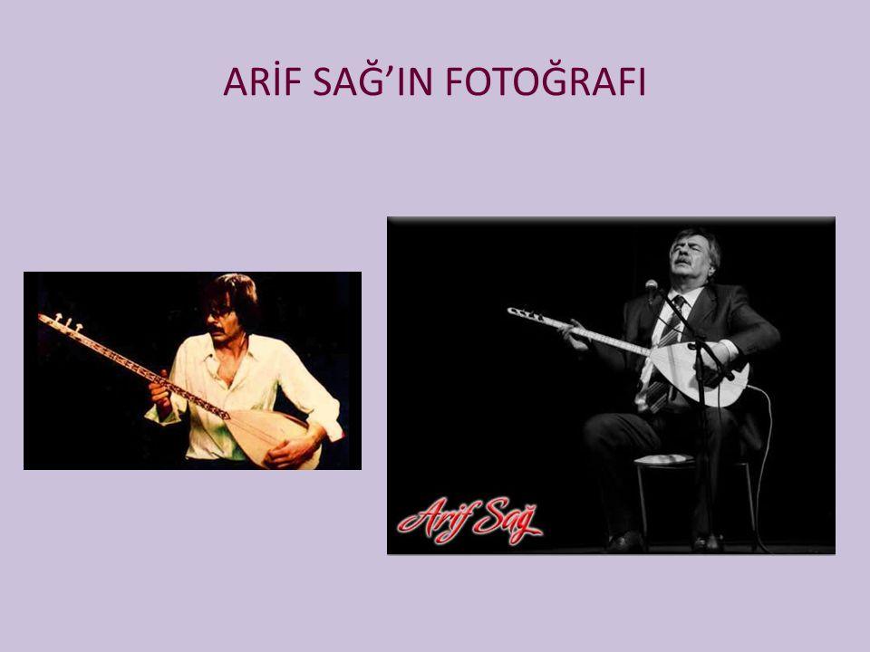 ARİF SAĞ'IN FOTOĞRAFI