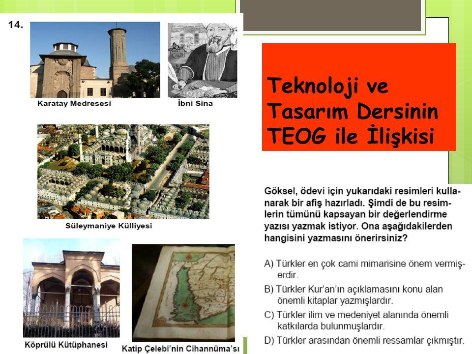 Teknoloji ve Tasarım Dersinin TEOG ile İlişkisi