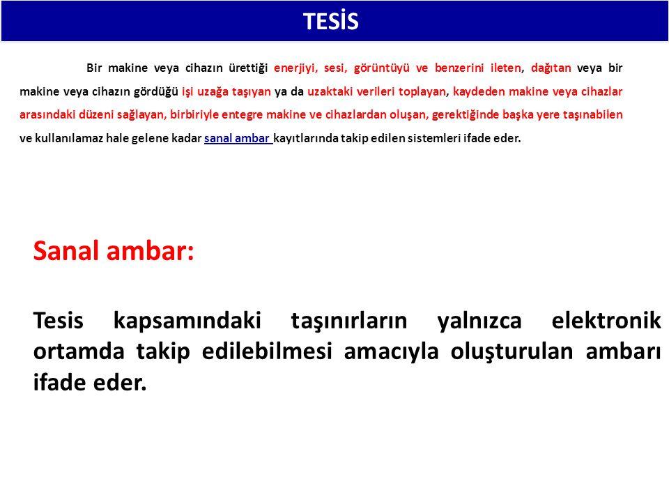 TESİS: