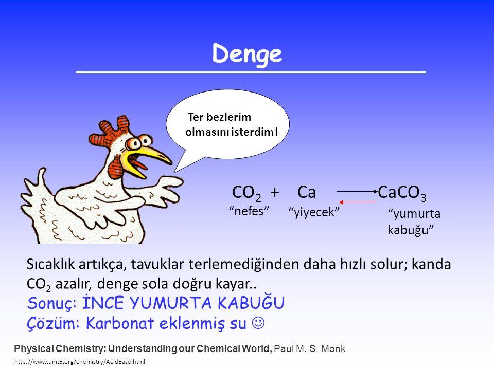 Denge Ter bezlerim. olmasını isterdim! CO2 + Ca CaCO3. nefes yiyecek yumurta.
