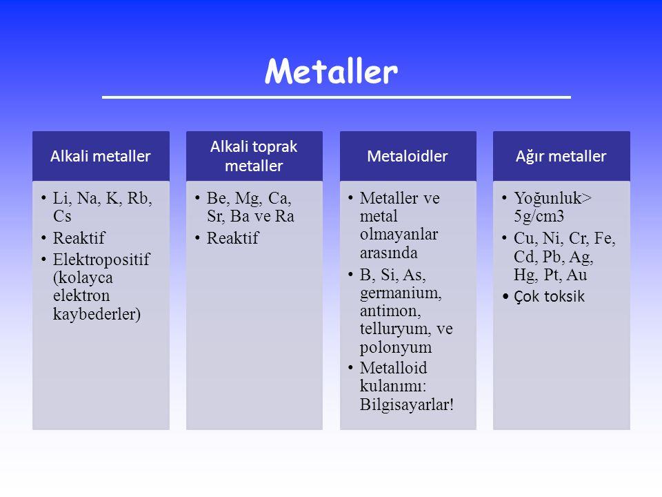 Alkali toprak metaller