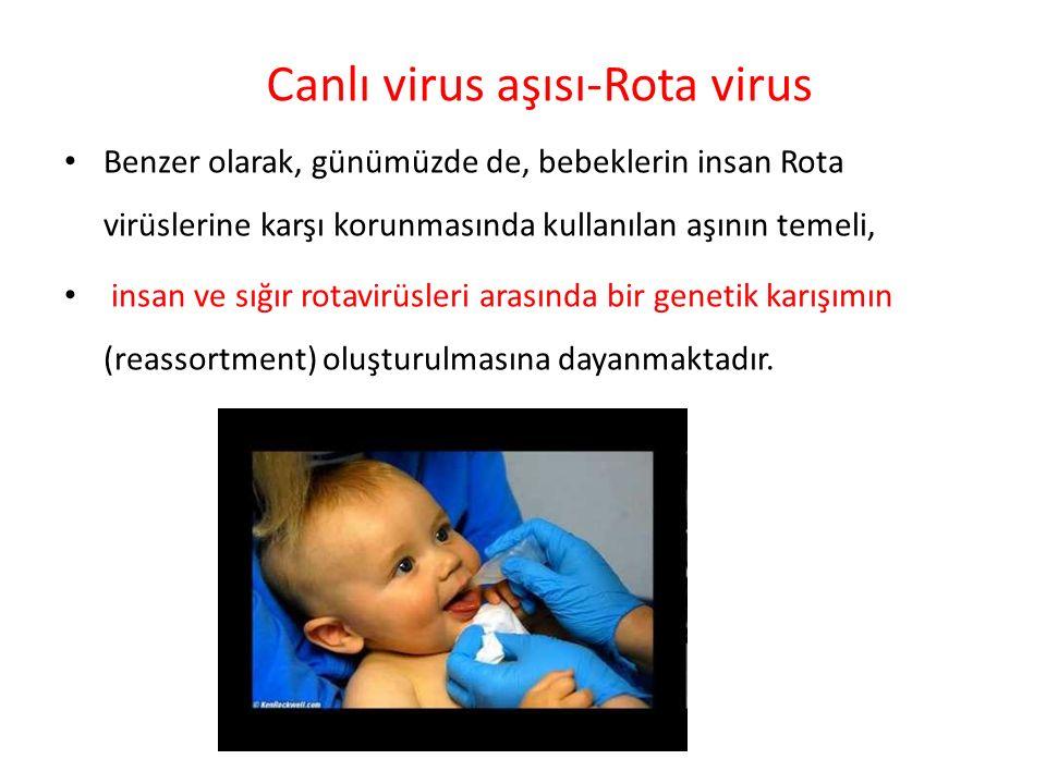 Canlı virus aşısı-Rota virus