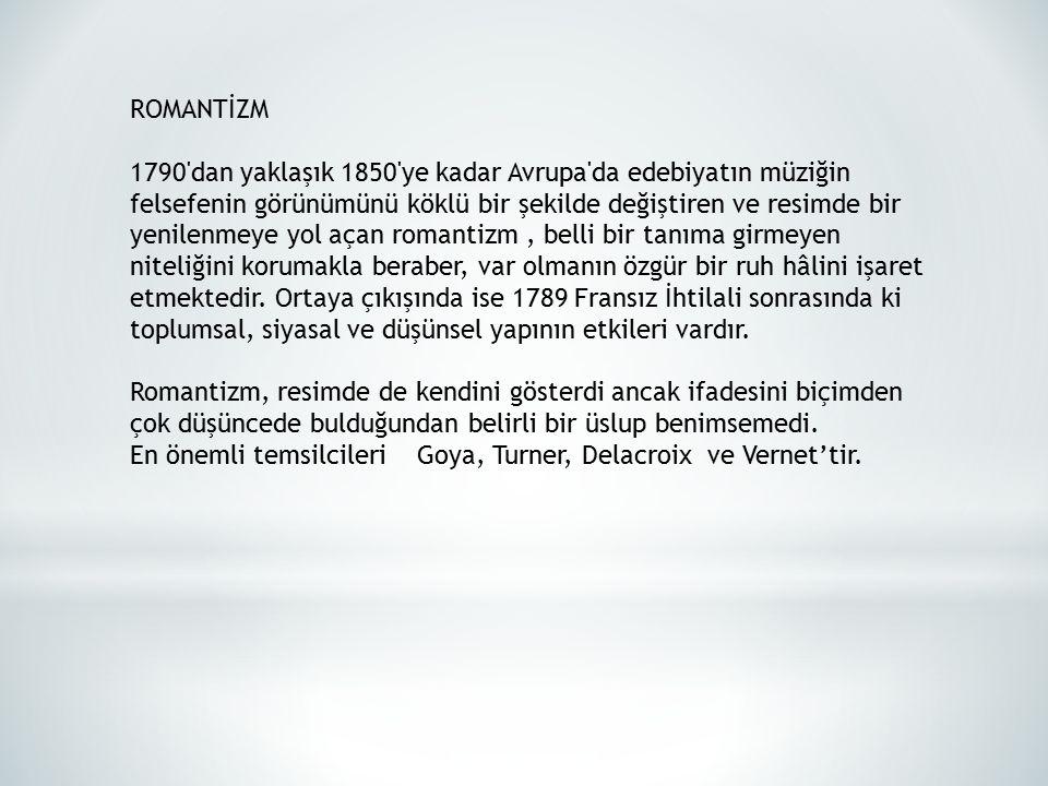 ROMANTİZM