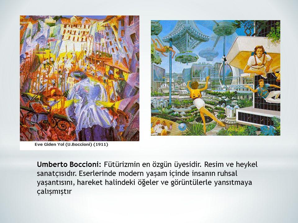 Umberto Boccioni: Fütürizmin en özgün üyesidir
