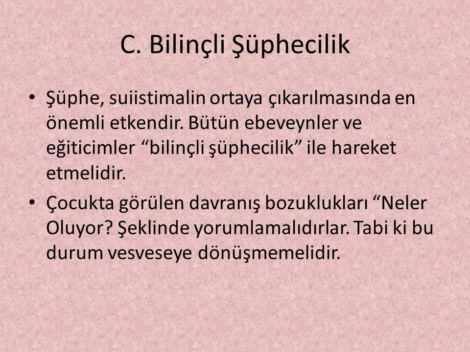 C. Bilinçli Şüphecilik