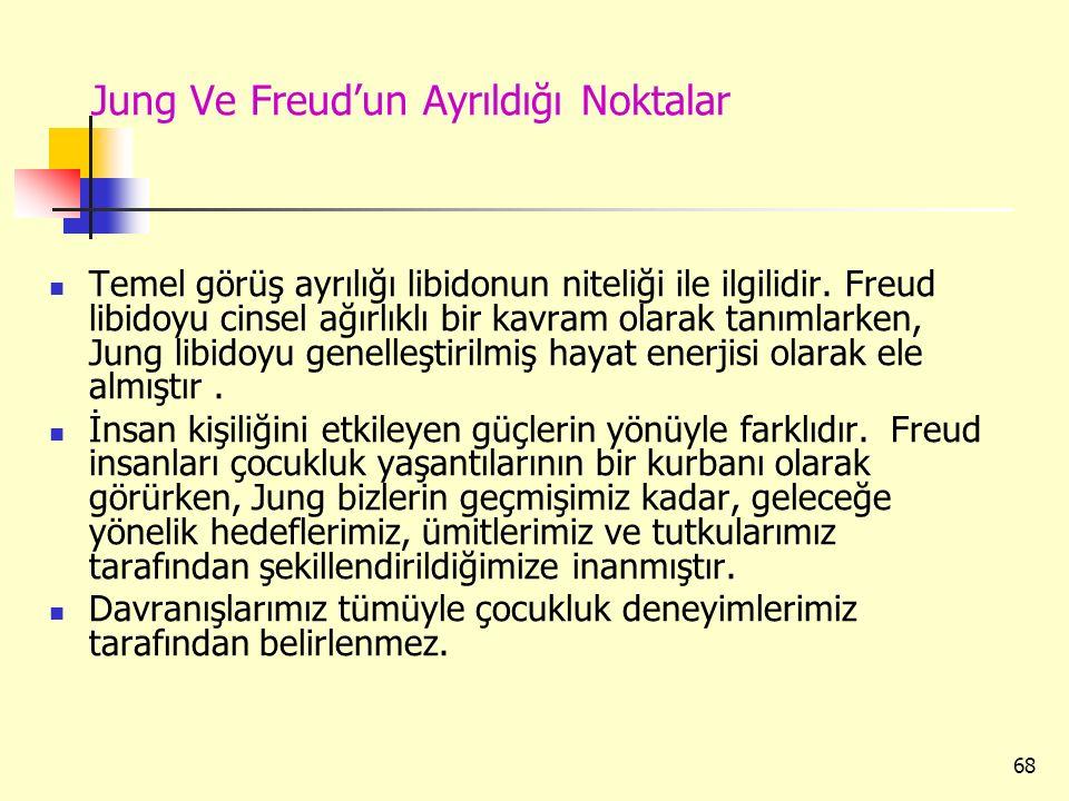 Jung Ve Freud'un Ayrıldığı Noktalar
