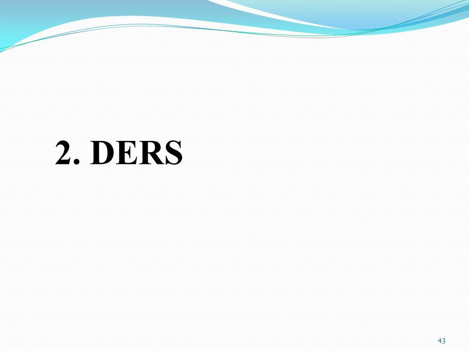 2. DERS