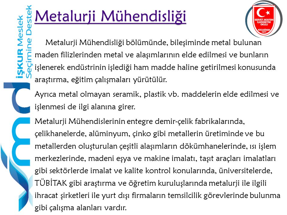 Metalurji Mühendisliği