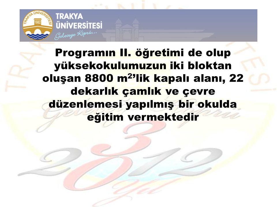 Programın II.