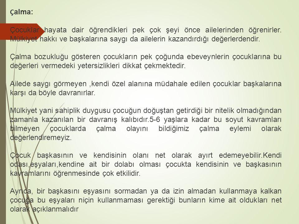 Çalma:
