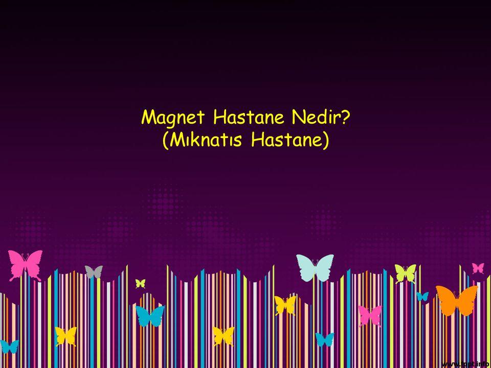 Magnet Hastane Nedir (Mıknatıs Hastane)