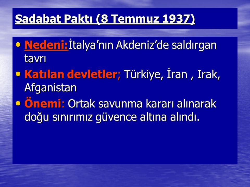 Sadabat Paktı (8 Temmuz 1937)