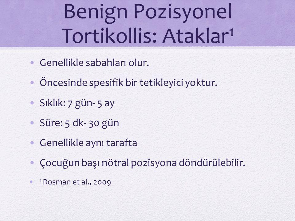 Benign Pozisyonel Tortikollis: Ataklar1