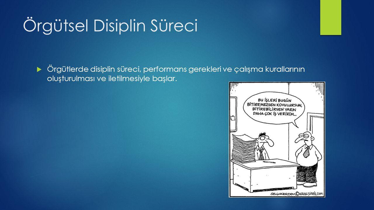 Örgütsel Disiplin Süreci