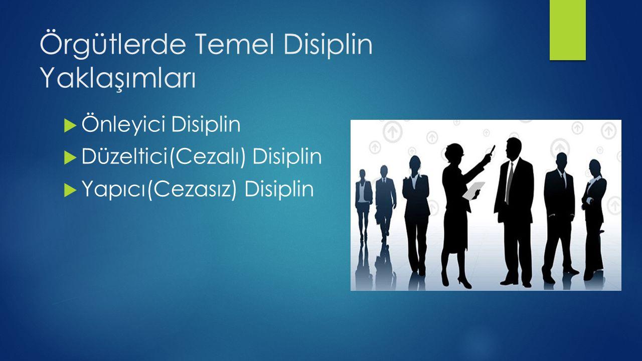 Örgütlerde Temel Disiplin Yaklaşımları