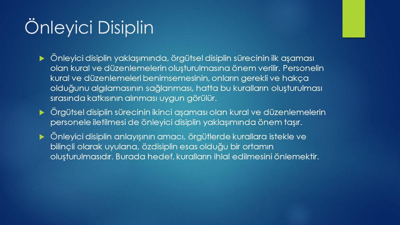 Önleyici Disiplin