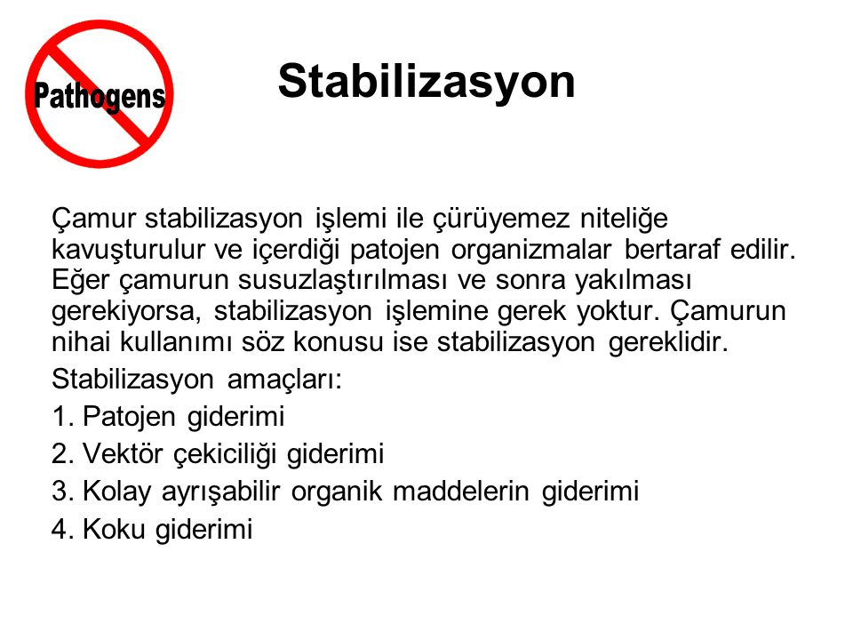 Stabilizasyon