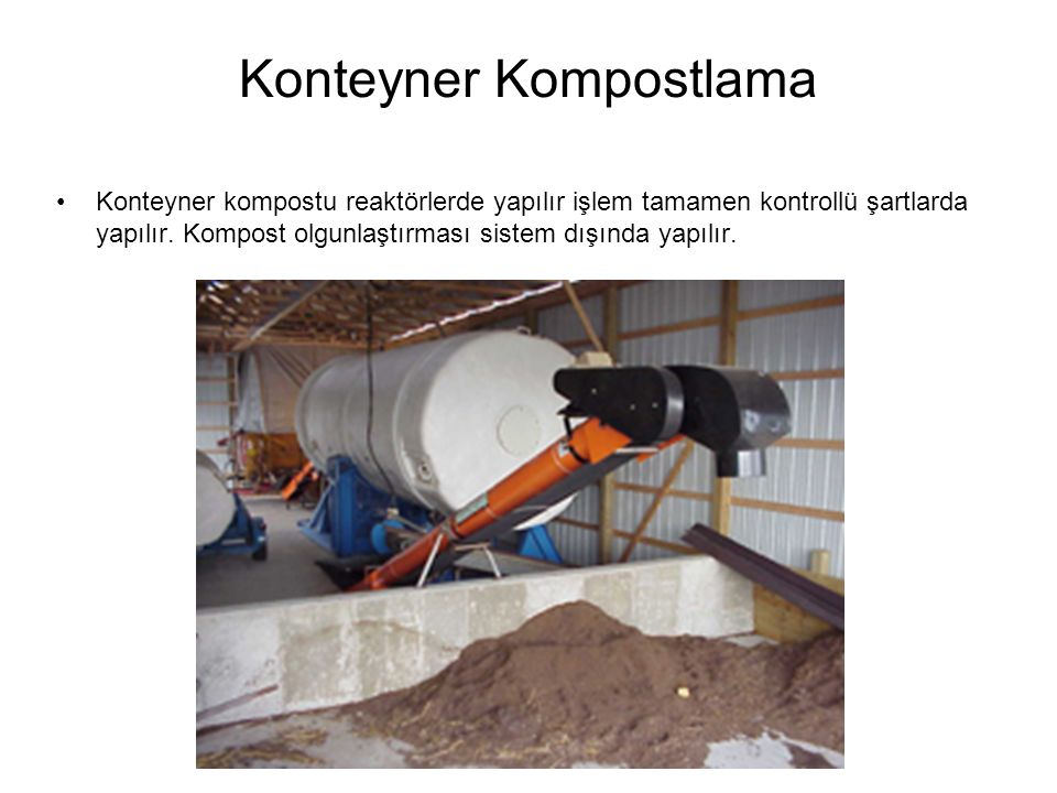 Konteyner Kompostlama