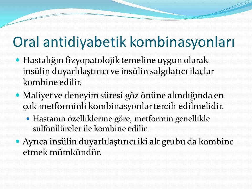 Oral antidiyabetik kombinasyonları