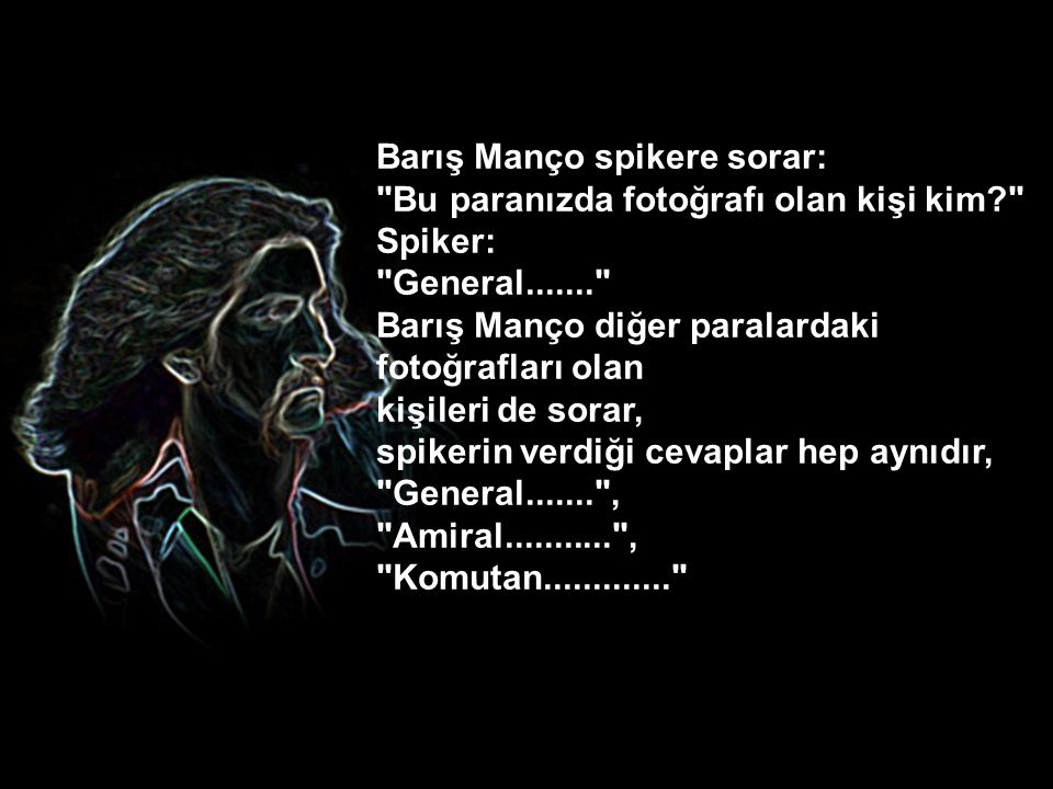Barış Manço spikere sorar: