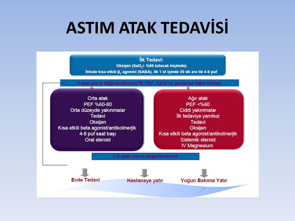 ASTIM ATAK TEDAVİSİ