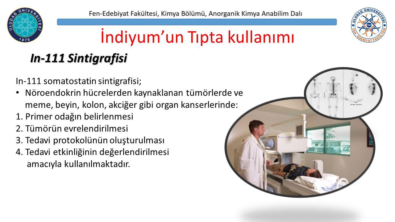 İndiyum'un Tıpta kullanımı
