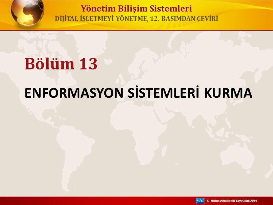 ENFORMASYON SİSTEMLERİ KURMA
