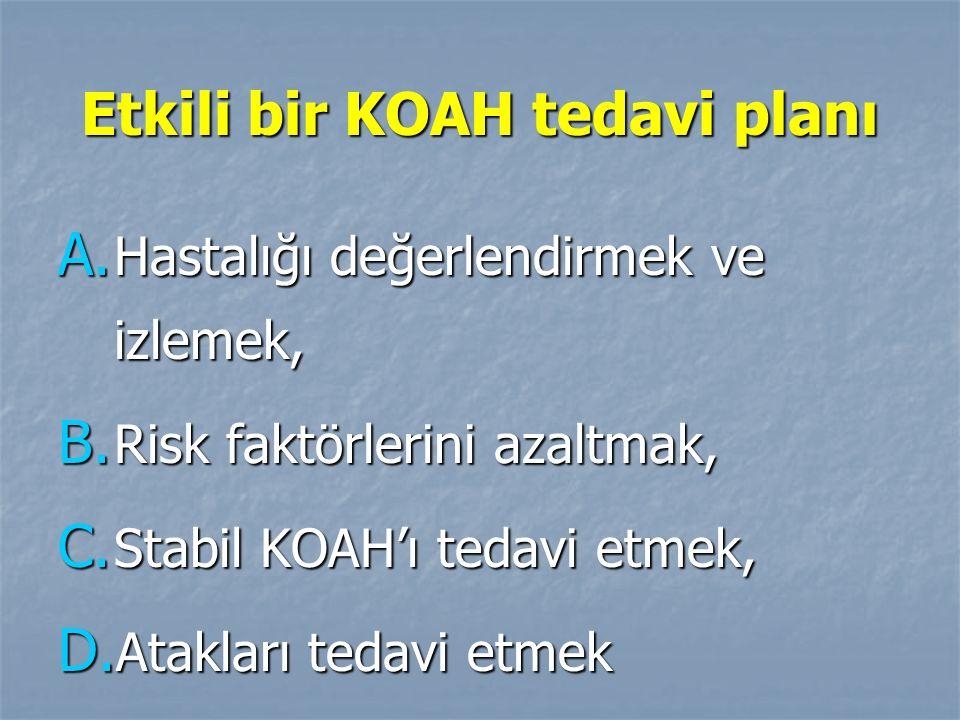 Etkili bir KOAH tedavi planı