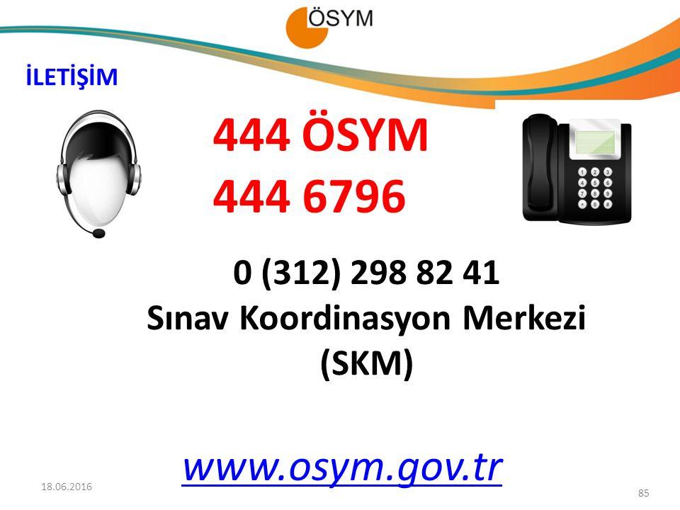 Sınav Koordinasyon Merkezi (SKM)
