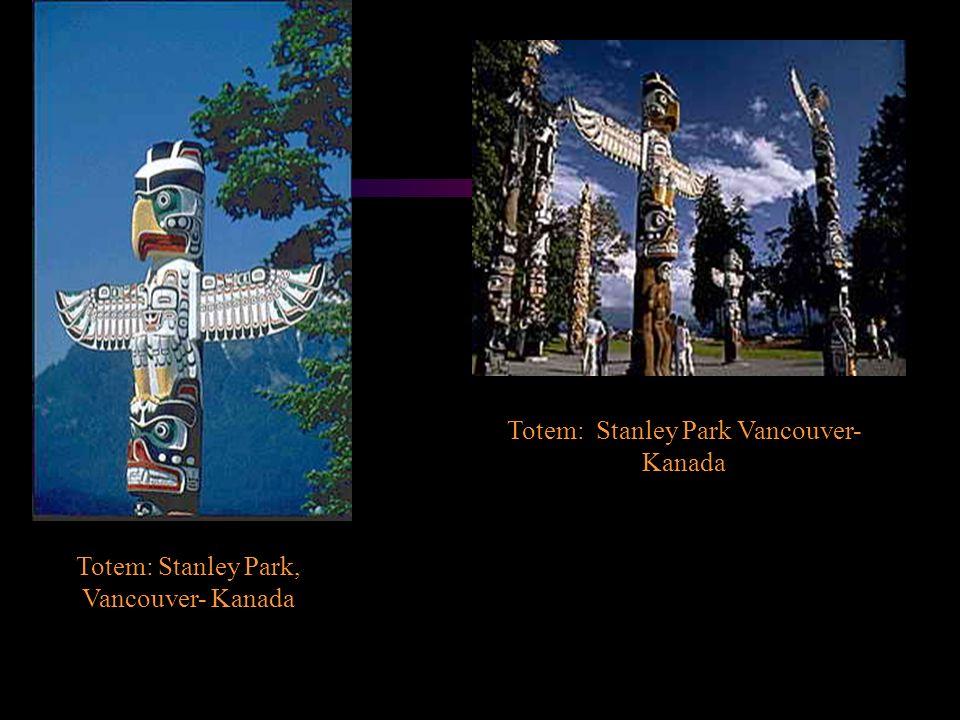 Totem: Stanley Park Vancouver-Kanada