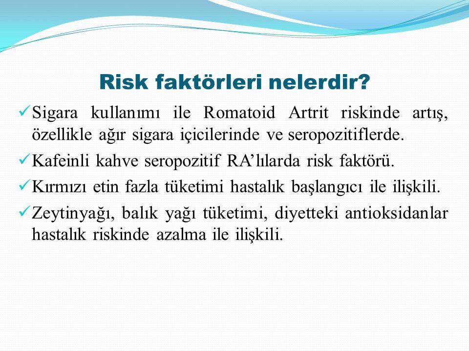 Risk faktörleri nelerdir