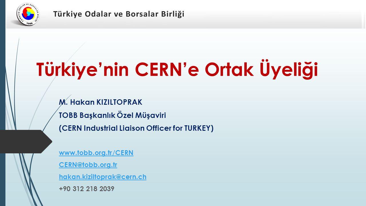 Türkiye'nin CERN'e Ortak Üyeliği