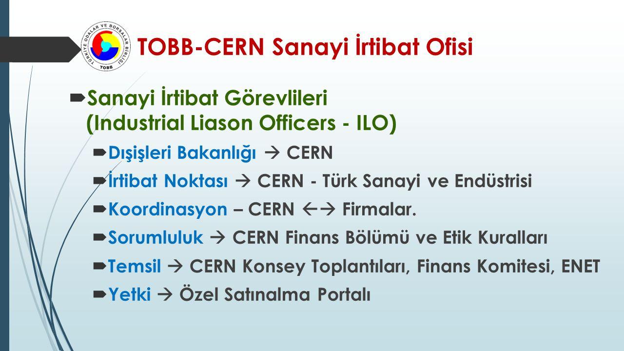 TOBB-CERN Sanayi İrtibat Ofisi